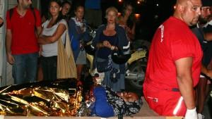 Dutzende Tote vor Lampedusa