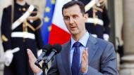 Assad plant Bodenoffensive