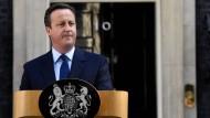 Cameron kündigt Rücktritt an