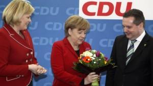 Merkel will Kabinett nicht umbilden