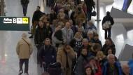 Sicherheitsstreik legt Flugverkehr lahm