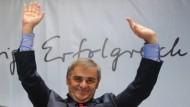 Wiedergewählt: Peter Müller erzielte sein bislang bestes Ergebnis