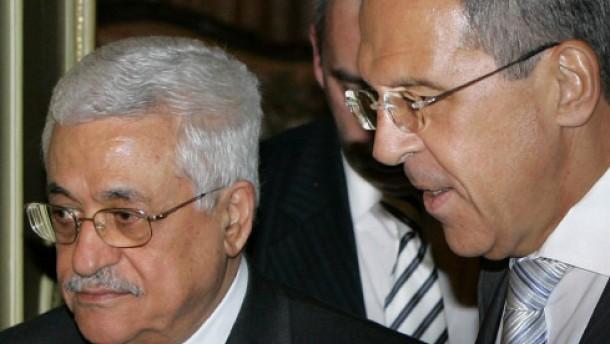 Russland unterstützt Abbas