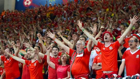 Wales begeistert seine Fans