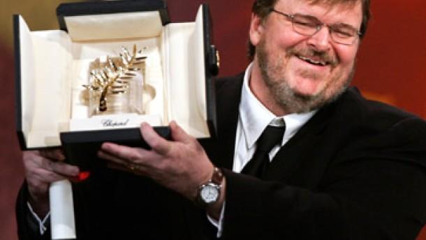 Danke, Mister Bush: Goldene Palme für Michael Moore