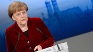 Merkel: Militärisch ist die Krise nicht zu lösen