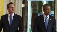 Obama und Cameron wollen enger zusammenarbeiten