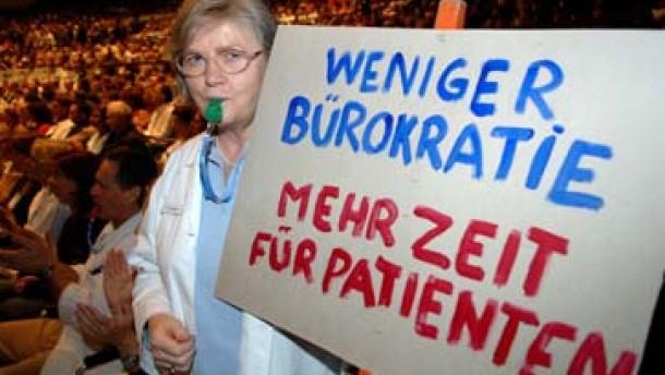 Jetzt protestieren auch niedergelassene Ärzte