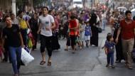 Palästinenser auf der Flucht vor Islamisten in Syrien