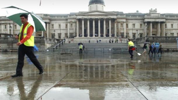 Der Masterplan für den Trafalgar Square