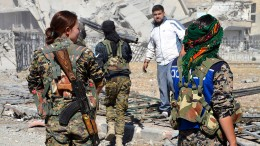 Traurige Heimkehr in die Trümmer von Raqqa