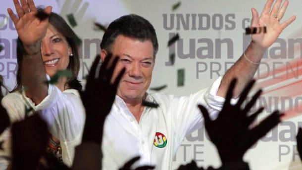 Santos siegt - aber verfehlt die absolute Mehrheit