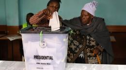 Wiederholung der Präsidentenwahl hat begonnen