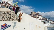 Art of Motion-Wettkampf auf Santorini