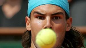 Nadal fegt auch Moya vom Feld