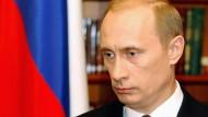 Empfängt Schröder im Ural: Wladimir Putin