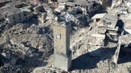 Drohnenvideo zeigt Ausmaß der Zerstörung in Italien