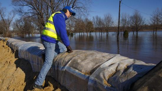 Überschwemmungen in Illinois