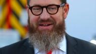 Bild-Chefredakteur Kai Diekmann mit teurer Haarpracht.