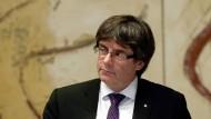 Puigdemont droht Anklage wegen Rebellion