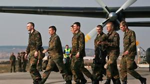 Bundeswehr verlegt 550 Soldaten in das Kosovo