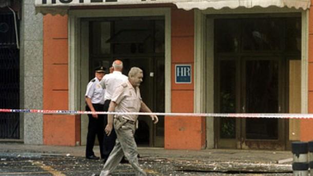 Mindestens dreizehn Verletzte bei Eta-Anschlägen auf Hotels