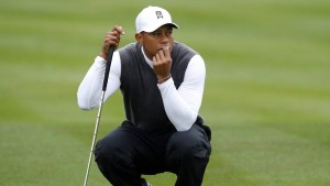 Tiger Woods spielt in Augusta