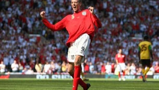 England schlägt Jamaika 6:0 - Auch Owen trifft