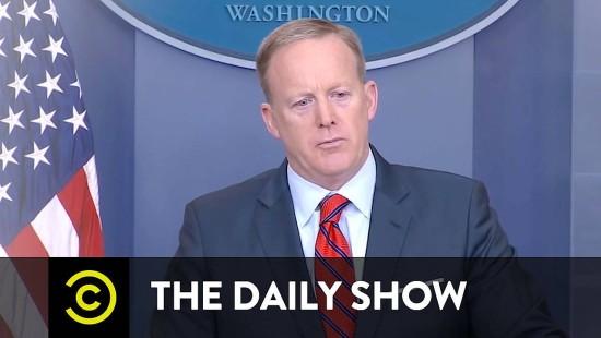"""Die """"Daily Show"""" verabschiedet sich von Sean Spicer"""