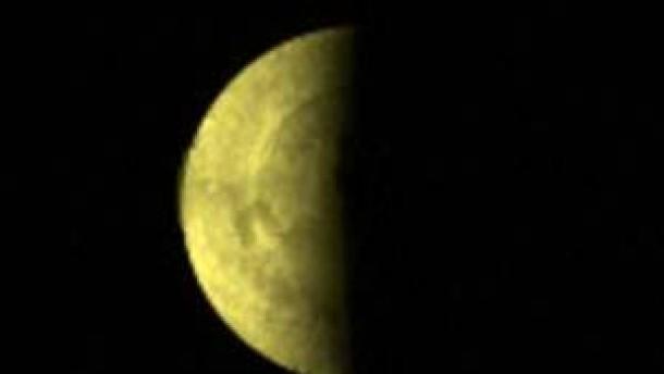 Erste Bilder vom Südpol des Nachbarplaneten