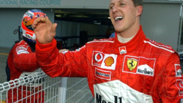 Schumacher gewinnt seinen sechsten WM-Titel