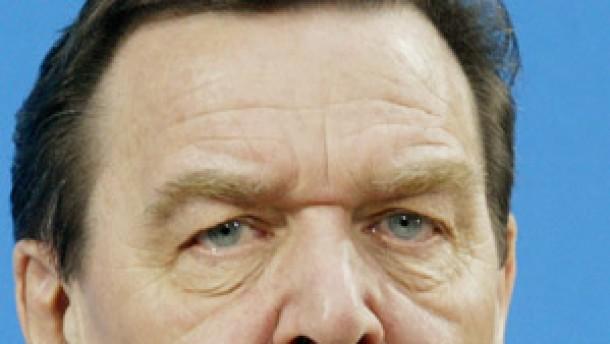 """Schröder räumt """"schmerzliche"""" Niederlage ein"""