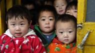 Chinesische Eltern fürchten um ihre Kinder - hier in einem Kindergarten in Peking