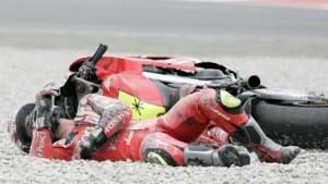 Schwerer Sturz bei der Motorrad-WM