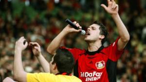 Leverkusen feiert Friedrichs Traumtor