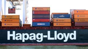 Hapag-Lloyd bekommt Milliarden-Staatsbürgschaft