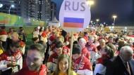 271 russische Athleten sind in Rio de Janeiro dabei