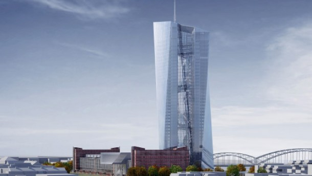EZB beschließt Bau neuer Zentrale