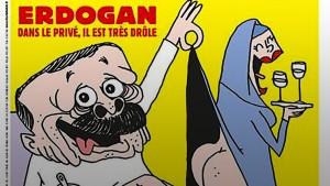Türkischer Präsident tobt über Charlie Hebdo