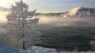 Der Baikalsee, 70 Kilometer entfernt von Irkutsk
