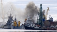 Brand auf russischem Atom-U-Boot gelöscht