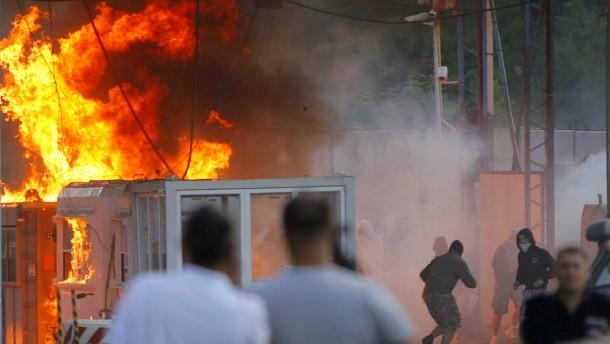 Neue Auseinandersetzungen im Kosovo