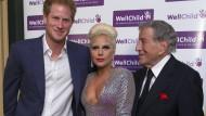 Prinz Harry trifft auf Lady Gaga