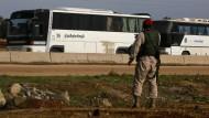 Abzug syrischer Rebellen