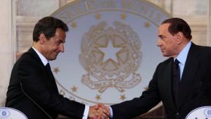 Frankreich stärkt italienischen Kandidaten