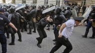 Ausschreitungen in Moldau wegen Finanzskandal