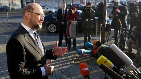 Schulz kündigt baldiges Ende der Koalitionsverhandlungen an