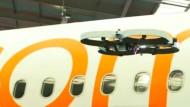 Billigfluglinie Easyjet setzt Drohnen zum Sparen ein