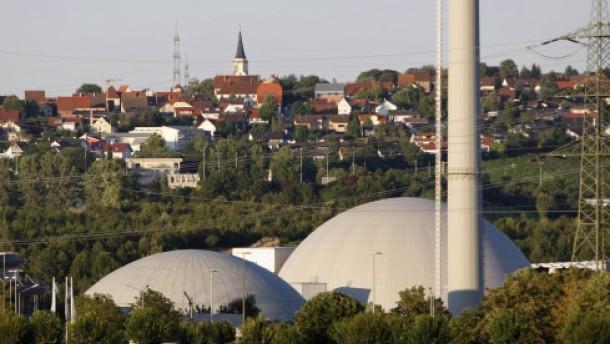 Atomkraftwerk Neckarwestheim vorsorglich abgeschaltet