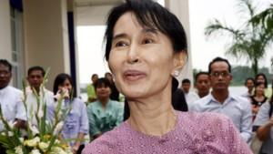 Amerikanische Diplomaten treffen Aung San Suu Kyi